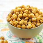 Garlicky Roasted Chickpeas