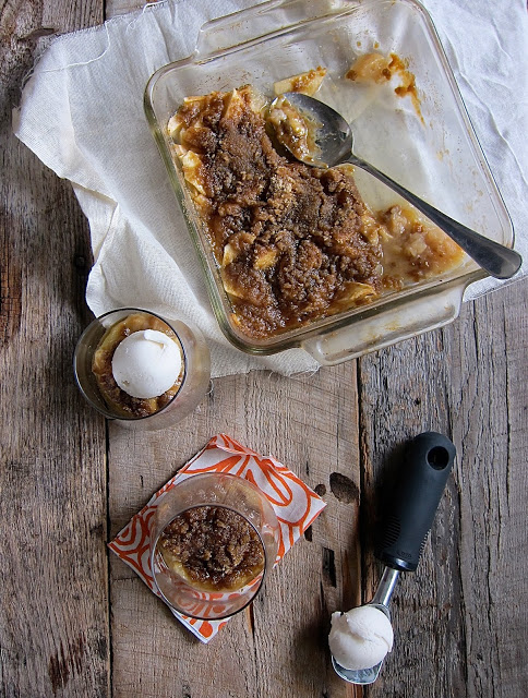 Cupcakes + Kale's Homestyle Vegan Apple Crisp