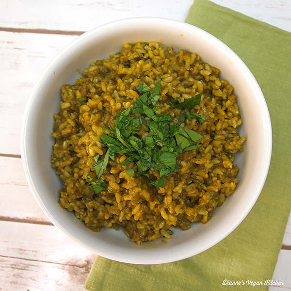 Green Rice from Vegan Mexico