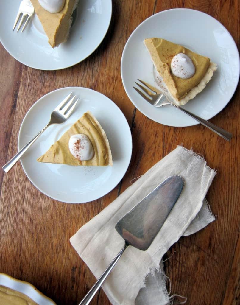 Cupcake + Kale's Pumpkin Cream Pie