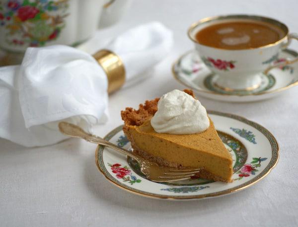 Ricki Heller's Grain-Free, Sugar-Free, Candida-Friendly Pumpkin Pie Recipe