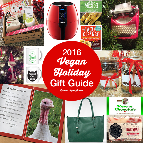 My 2016 Vegan Holiday Gift Guide