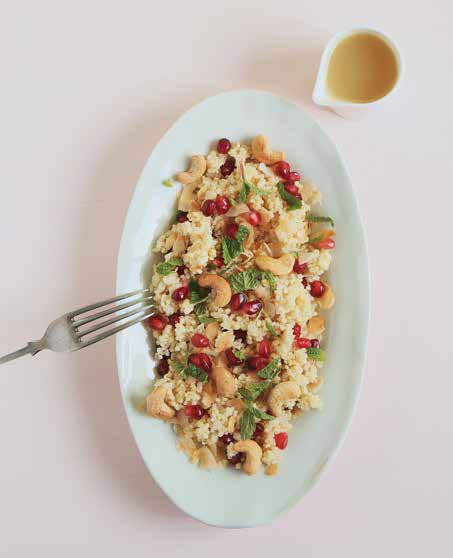 Quinoa Breakfast Pilaf from The Great Vegan Grains Book by Celine Steen and Tamasin Noyes