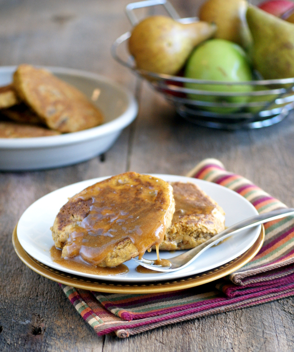 Ricki Heller's Fluffy Sweet Potato and Pear Pancakes