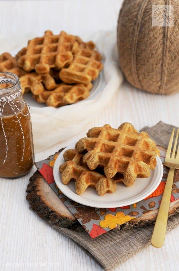 Fried Dandelions' Pumpkin Spice Waffles