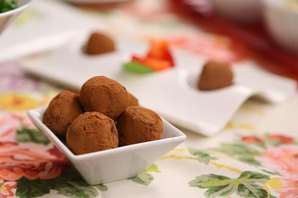Laura Theodore's Maple-Raisin-Date Truffles