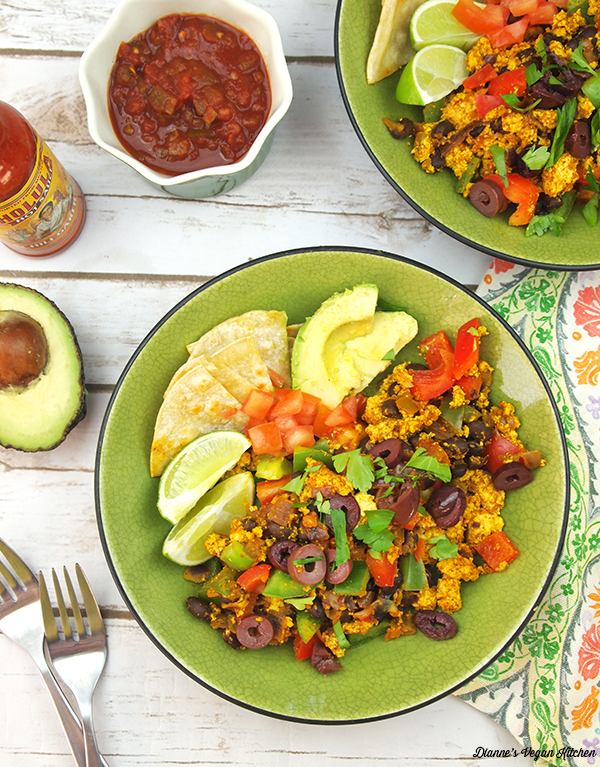Tex-Mex Tofu Scramble from What's for Breakfast