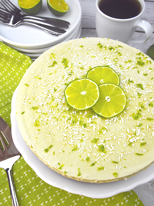 Raw Key Lime Pie from The Blossom Cookbook