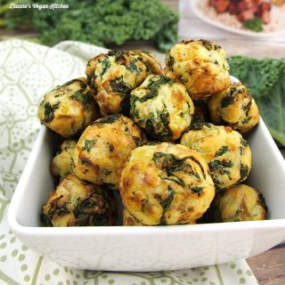 Kale and Potato Nuggets from The Vegan Air Fryer by JL Fields