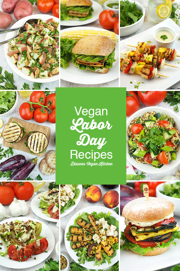 Vegan Labor Day Recipes