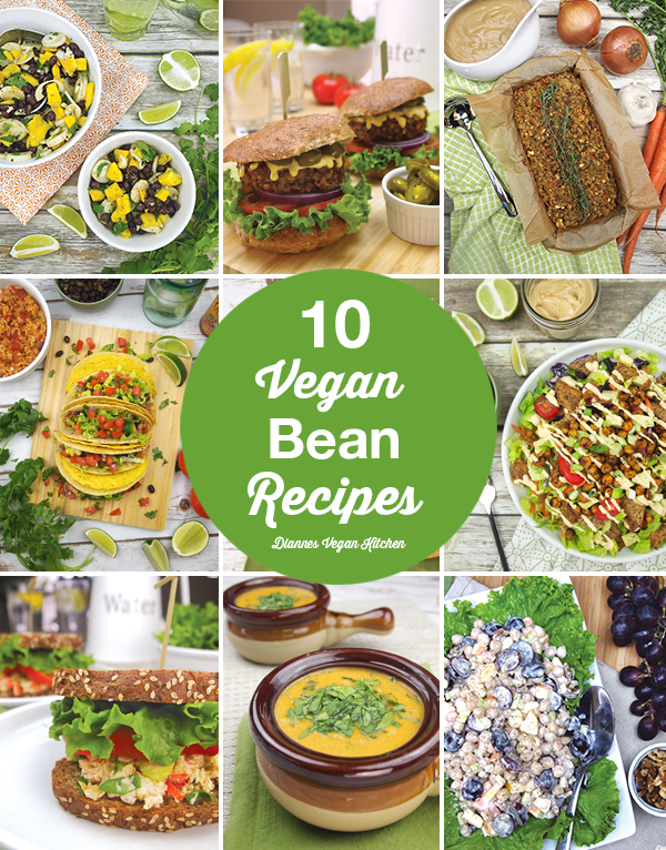 10 of My Favorite Vegan Bean Recipes