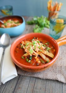 Tortilla Soup fromPlant-Powered for Lifeby Sharon Palmer