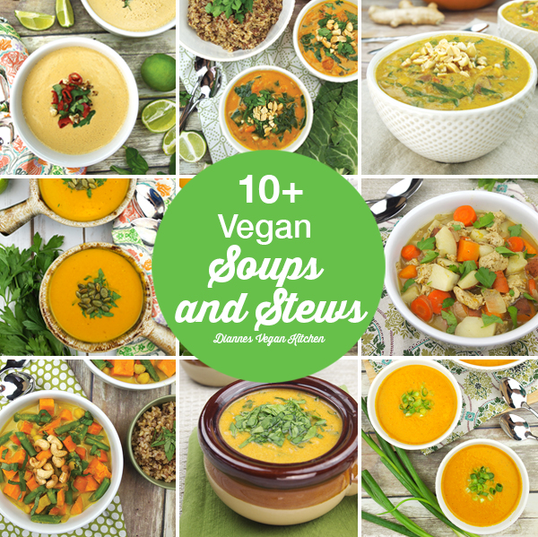 10+ Vegan Soups and Stews for Chilly Autumn Days
