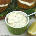 Lemon Thyme Mayo from Vegan Burgers and Burritos