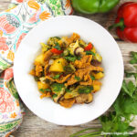 Sweet and Sour Soy Curls from The Mindful Vegan by Lani Muelrath