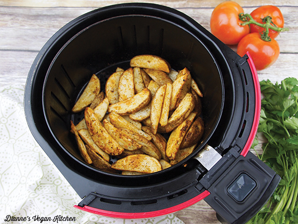 potatoes in the air fryer