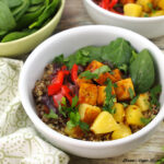 BBQ Hawaiian Tofu Bowl from The Simply Vegan Cookbook