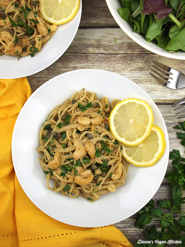 Vegan Cashew Scampi from Real Food, Really Fast by Hannah Kaminsky