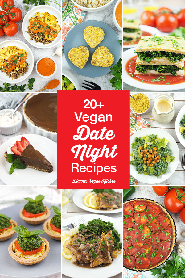 Vegan Date Night Recipes for Valentine's Day