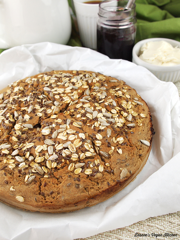 Vegan Whole Wheat Soda Bread