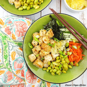 Vegan Sushi Bowl from The Veginner's Cookbook