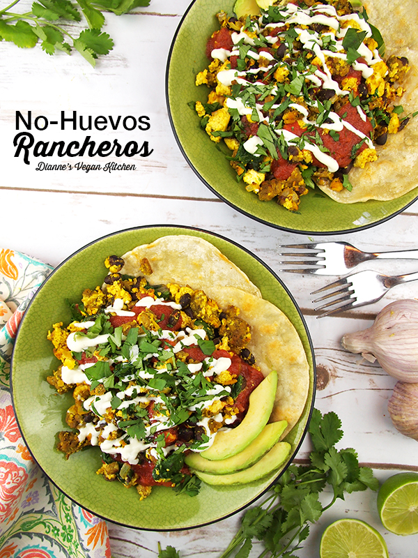No-Huevos Rancheros from Chloe Flavor (vegan, dairy-free, egg-free, gluten-free option) >> Dianne's Vegan Kitchen