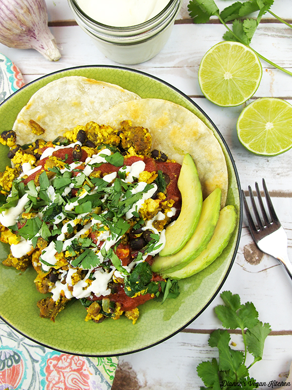 No-Huevos Rancheros from Chloe Flavor