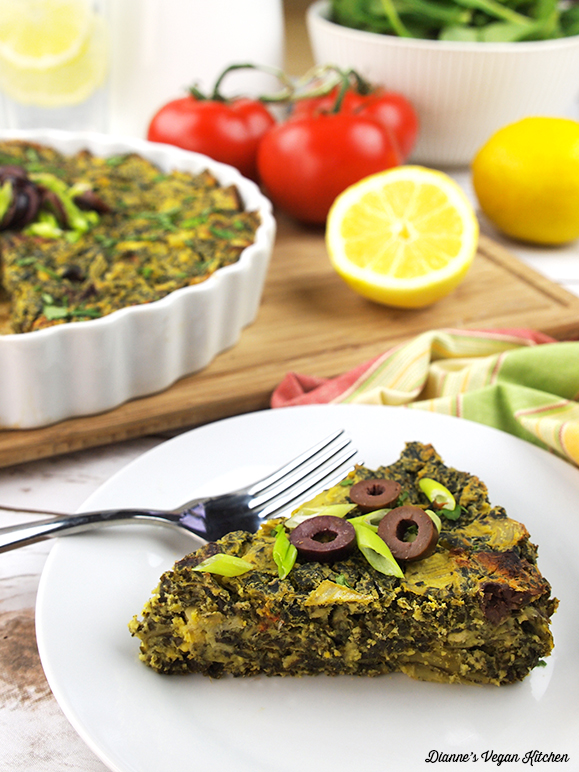 Vegan Greek Frittata