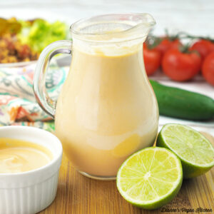 Creamy Vegan Chipotle Lime Dressing