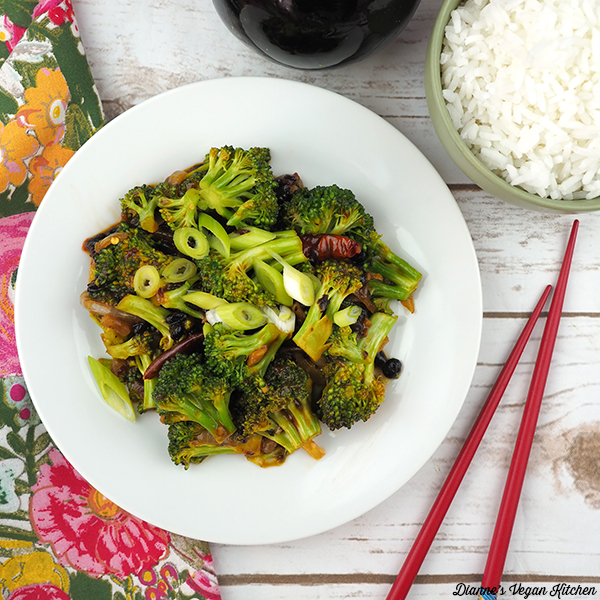 Broccoli with Fermented Black Bean Sauce from The Wicked Healthy Cookbook by Chad Sarno, Derek Sarno, and David Joachim