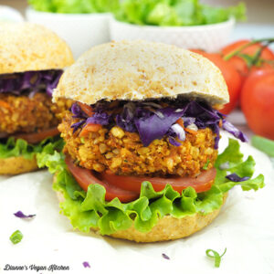 Thai Tofu Burgers from From the Kitchens of YamChops