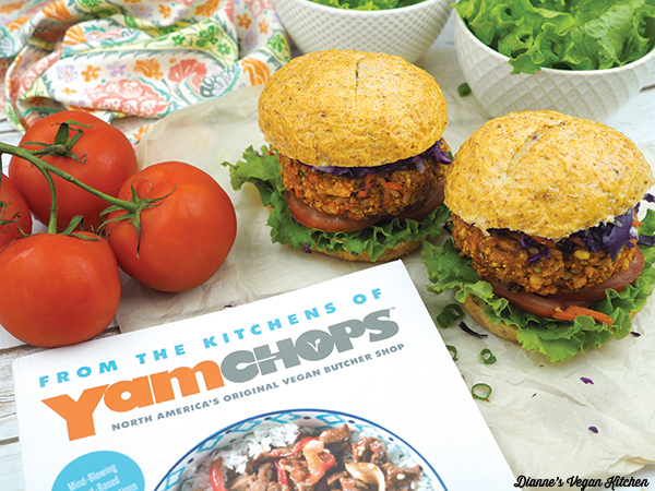 Burgers with From the Kitchen of YamChops by Michael Abramson
