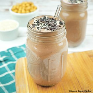 Vegan Chocolate Hummus Shake
