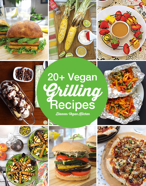 These vegan grilling recipes will last you all summer long. They're perfect for the 4th of July, Labor Day, or any random Saturday!