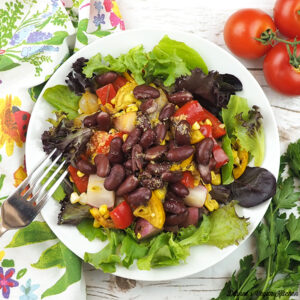 Grill and Chill Salad from Vegan Yack Attack on the Go! by Jackie Sobon