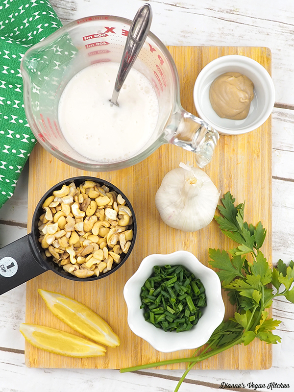 Vegan Buttermilk Dressing Ingredients