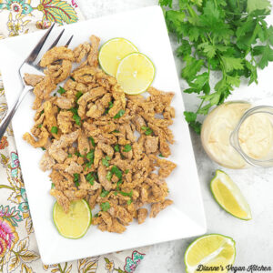 Spanish Style Soy Curls