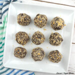 Chocolate–Peanut Butter Candy Bites for The Vegan 8 by Brandi Doming