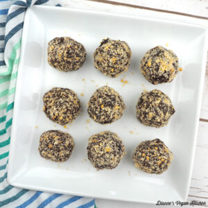 Chocolate–Peanut Butter Candy Bites from The Vegan 8