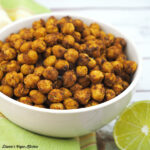 Spicy Chili Lime Roasted Chickpeas