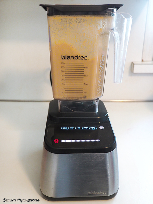 bending ingredients in blendtec