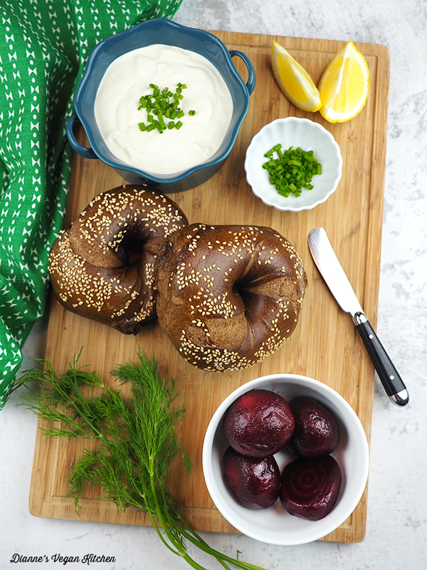 Swedish Bagel ingredients