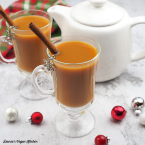 Gingerbread Tea Latte
