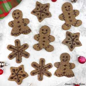 Gingerbread Cookies fromNaturally Sweet Vegan Treatsby Marisa Alvarsson
