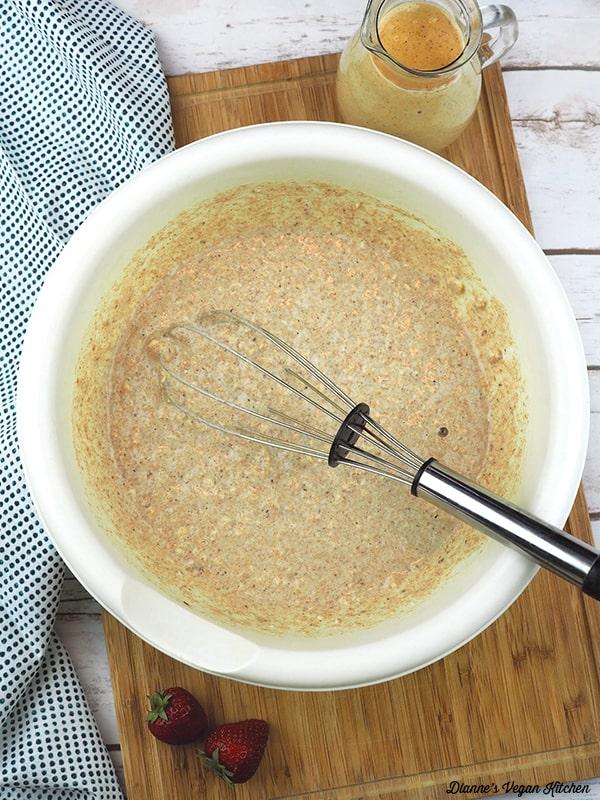 Vegan Multigrain Pancakes batter