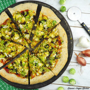 Vegan Brussels Sprouts Pizza square
