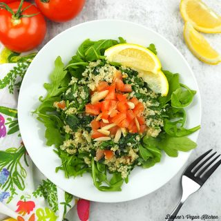 Quinoa and Kale Bowl from Vegan Meal Prep by JL Fields