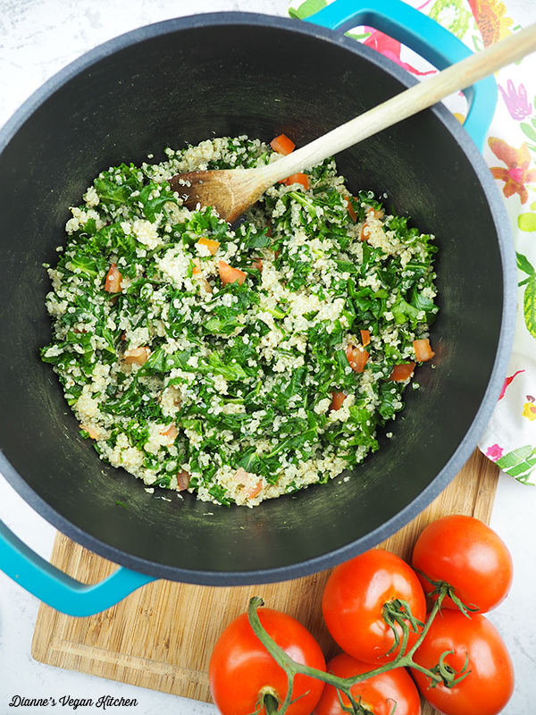 Quinoa and Kale pot