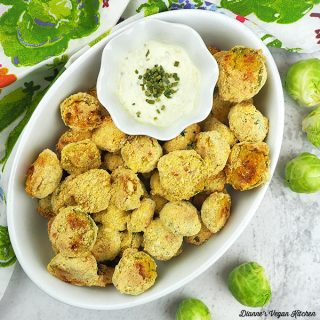 Cornmeal Crusted Brussels Sprouts sprouts