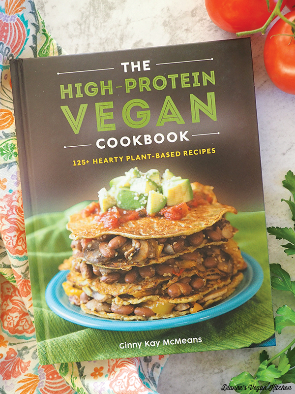 The High Protein Vegan Cookbook by Ginny McMeans